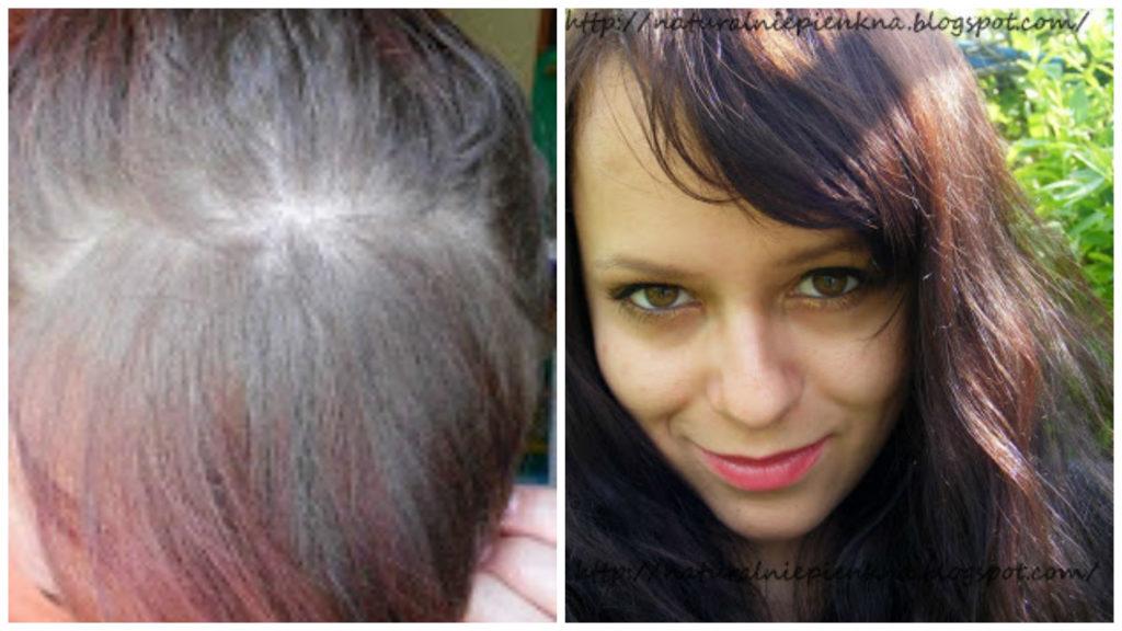 FARBY OLIA - Czyli moje farbowanie włosów z Garnierem