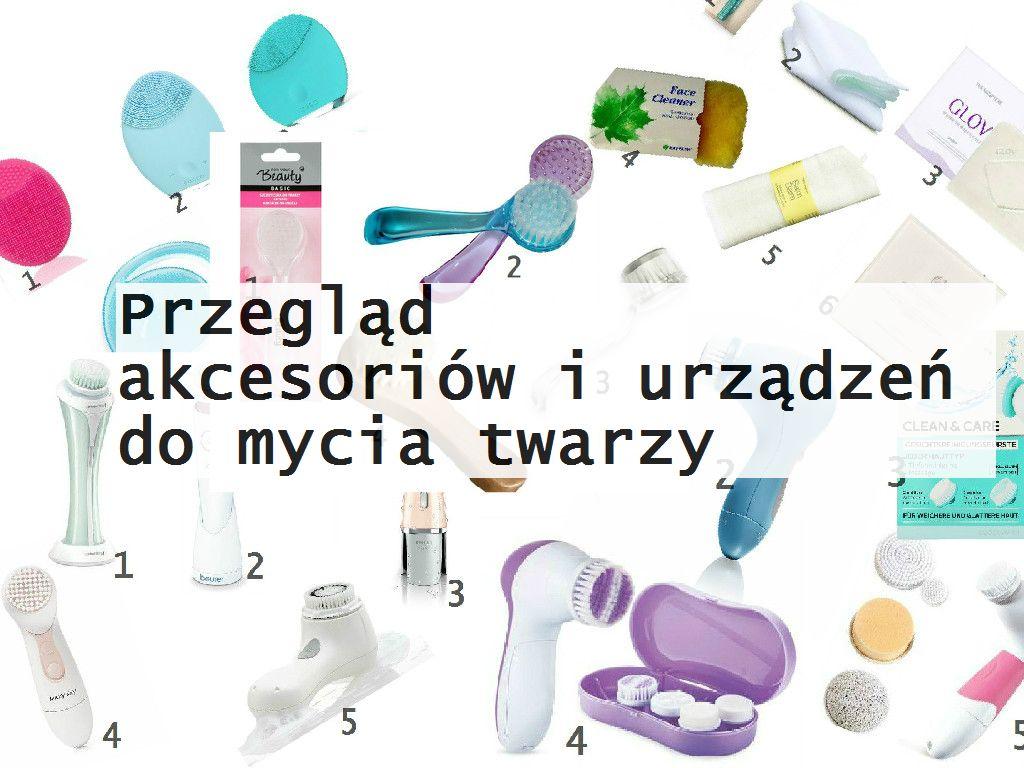 urządzenia do mcyia twarzy