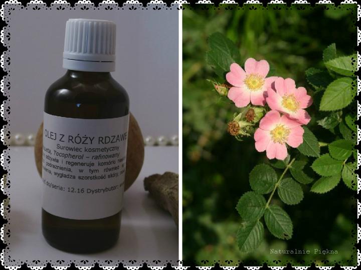 Olej z Róży Rdzawej