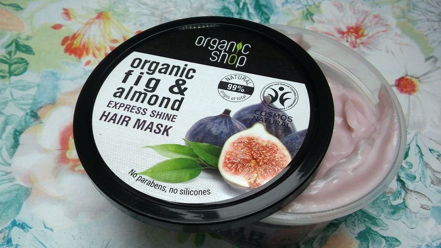 ORGANICZNA maska do włosów GRECKA FIGA i OLEJ MIGDAŁOWY