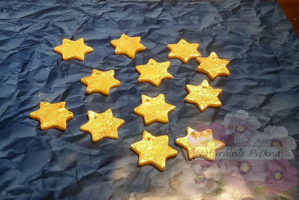 DIY Mydlane gwiazdki na prezent pod choinkę