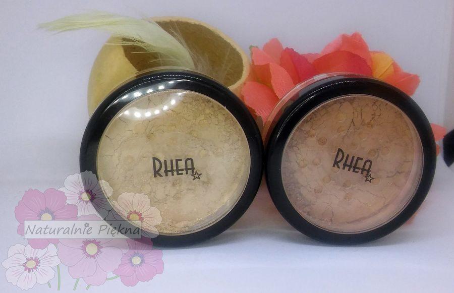 Kosmetyki mineralne do makijażu Rhea