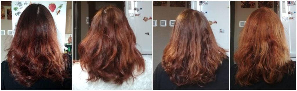 domowe rozjaśnianie włosów efekty