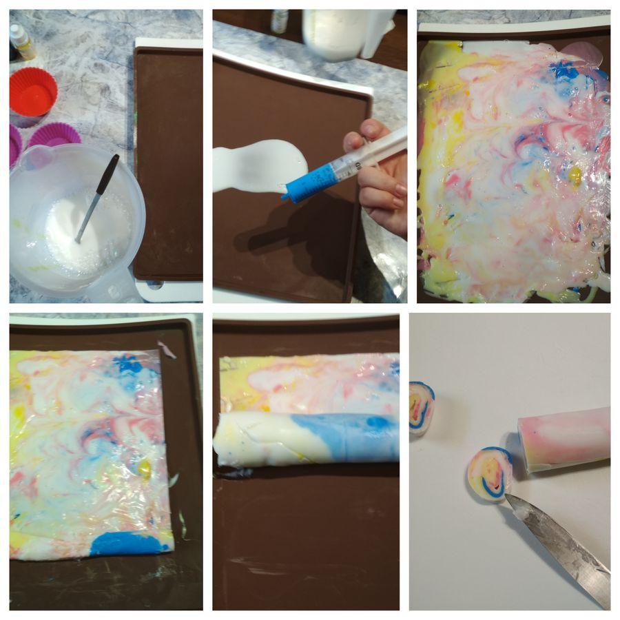 kolorowe mydełka jak zrobić