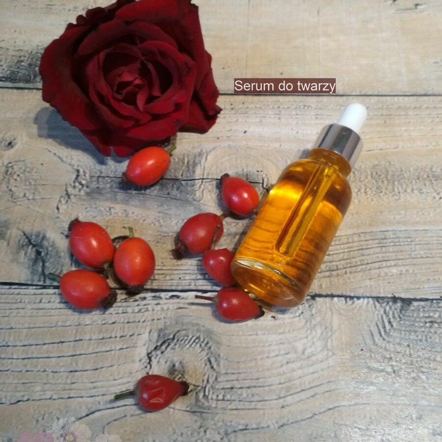 Serum olejowe różane do twarzy