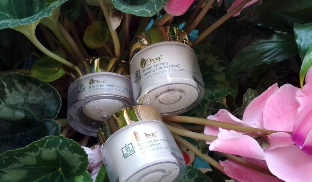 Kremy z ekstraktem z zielonej herbaty