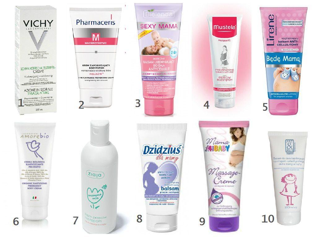 kosmetyki dla kobiet w ciąży