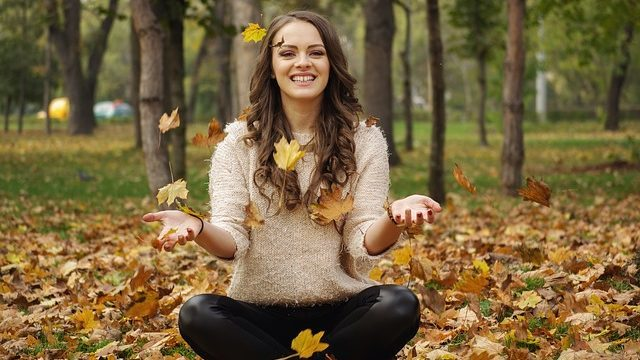 Jesienny makijaż naturalny