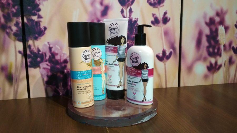 Energie Fruit kosmetyki do włosów