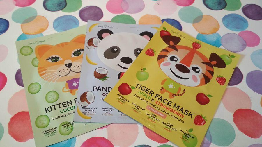 Face food 7TH heaven maseczki zwierzaki