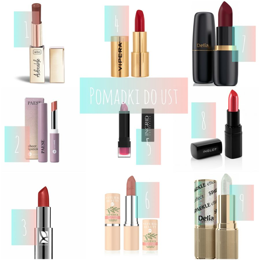 kosmetyki do makijażu pomadki do ust polskie marki