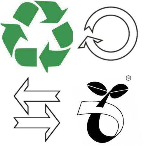 symbole zero waste