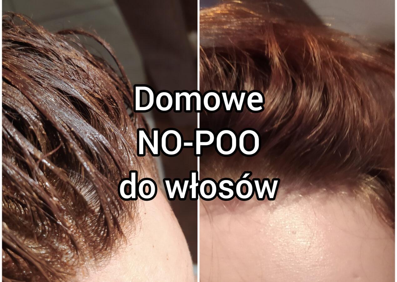 Domowa pasta do mycia włosów NO-POO