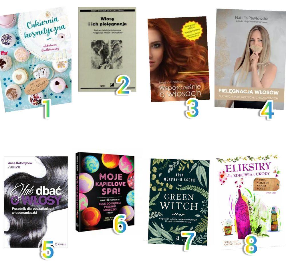 książki o urodzie
