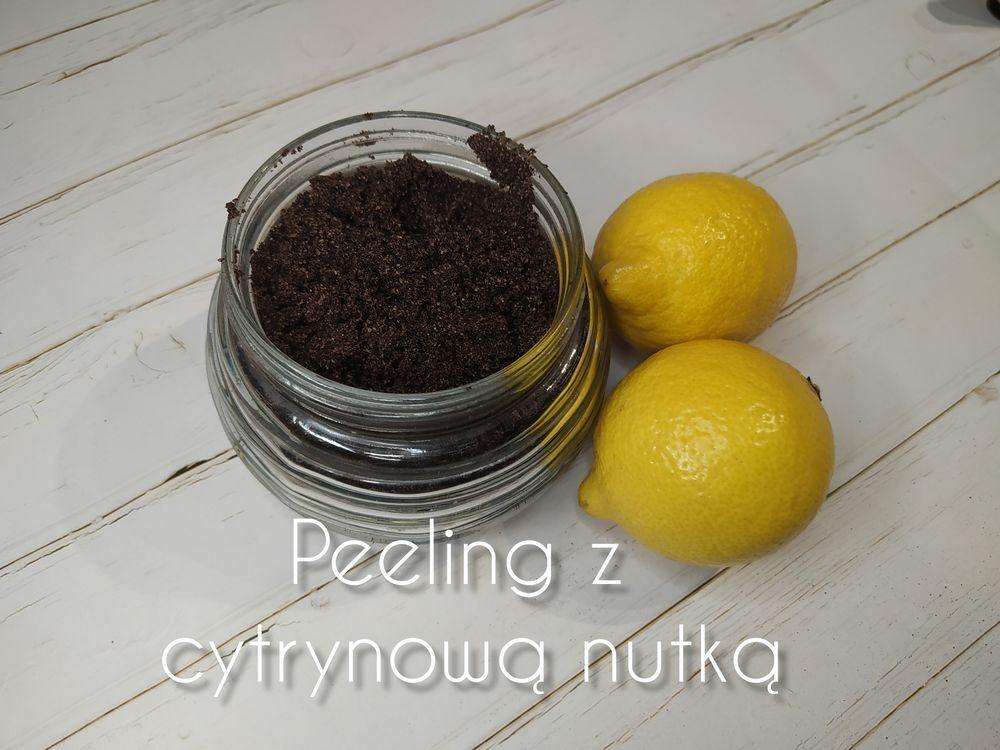 Domowy peeling do ciała z nutką cytrynową