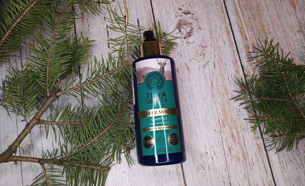 Natura Siberica Tuva Siberica Deer Moss szampon