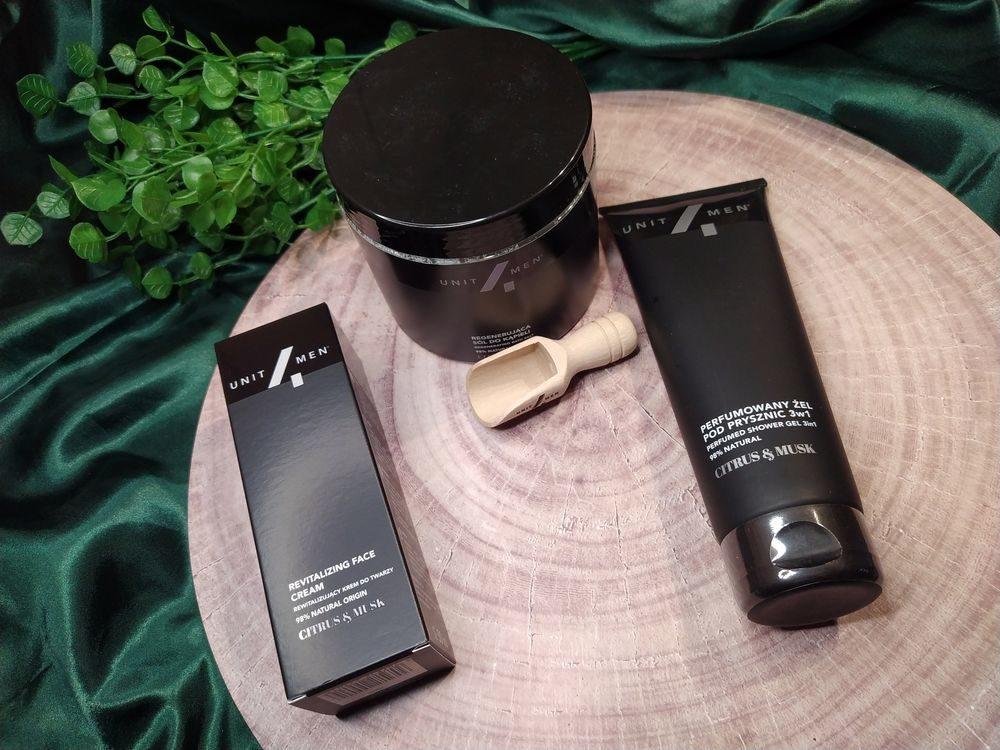 Naturalne kosmetyki dla mężczyzn Unit4men