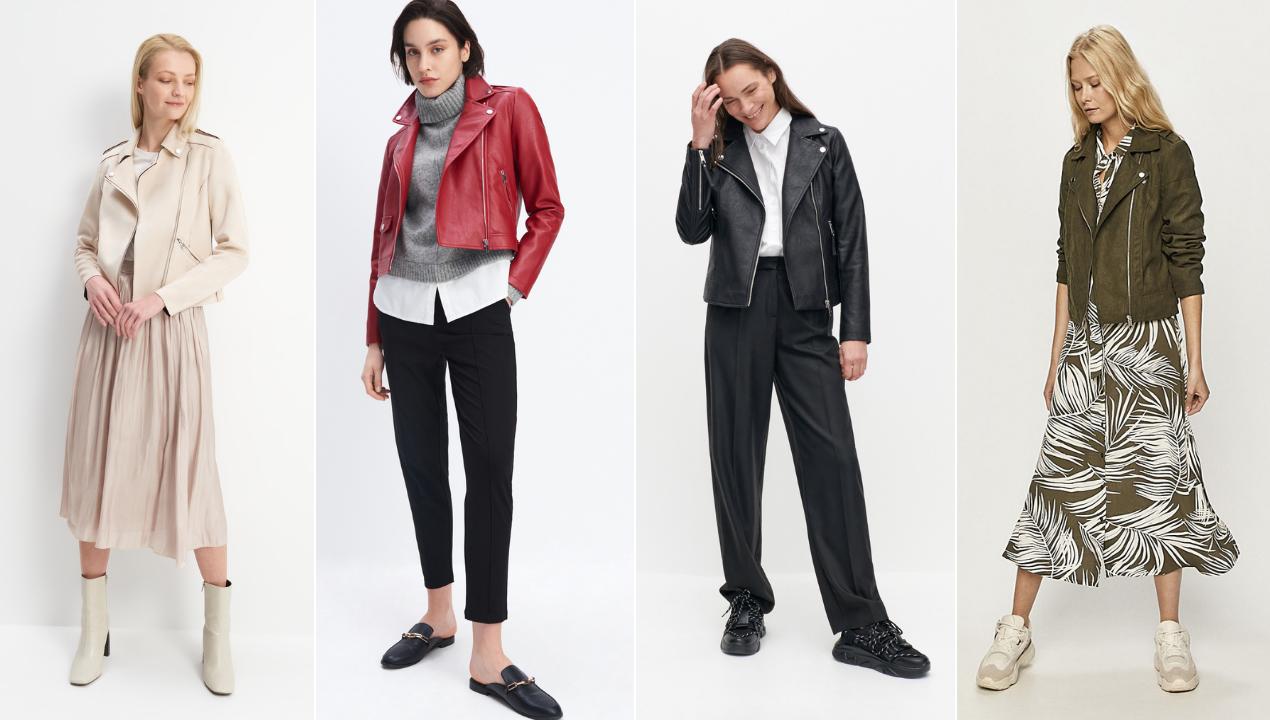 Ramoneska damska w wiosennych stylizacjach – sprawdź, z czym ją nosić!