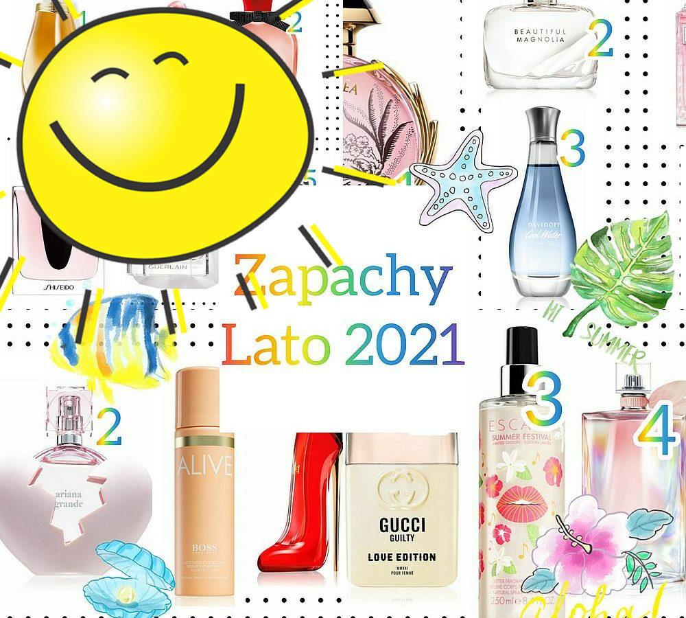 Zapachy na lato 2021